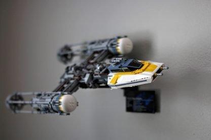 lego mount wall display y wing